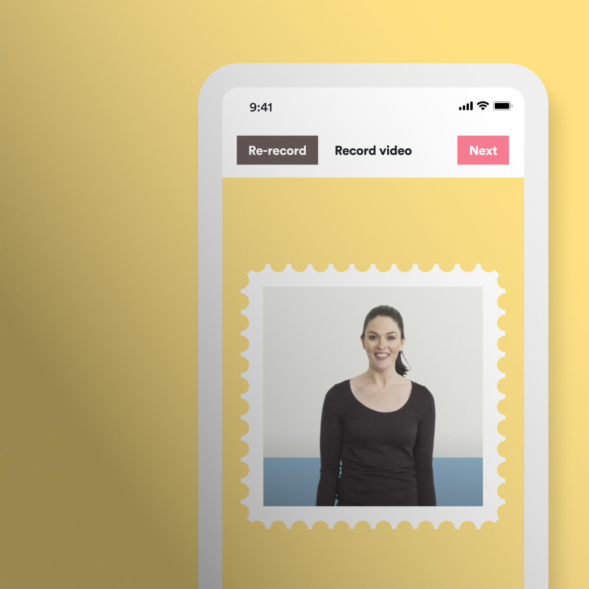 Australia Post: Video Stamp