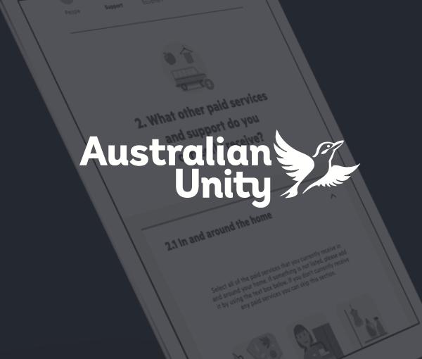 Australian Unity: NDIS
